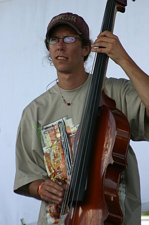 Bryan Horne Playing Bass with the Everyone Orchestra at 10K Lakes 2006