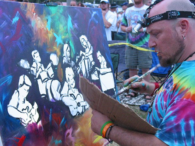 Creating Art at 10K Lakes 2006