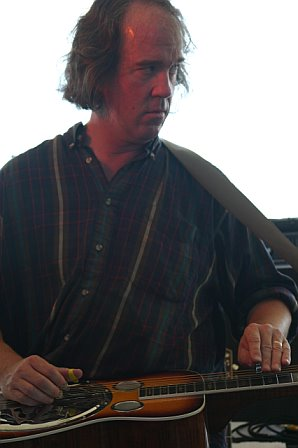 Railroad Earth's Andy Goessling at 10K Lakes 2006