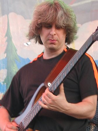 Mike Gordon with Trey Anastasio at 10K Lakes 2006