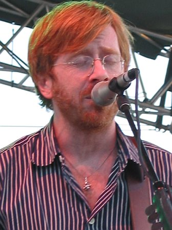 Trey Anastasio Performing at 10K Lakes Festival - 2006