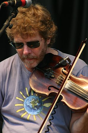 Sam Bush with Leftover Salmon