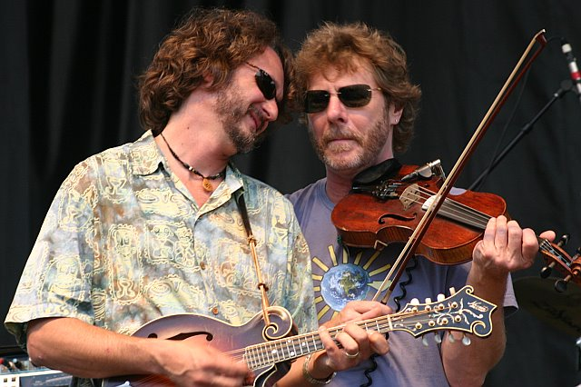 Drew Emmitt and Sam Bush