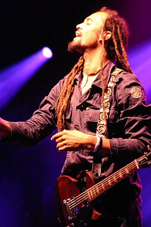 Michael Franti Performs