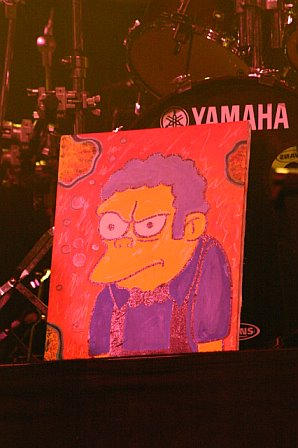 moe. pays tribute to The Simpsons' Moe