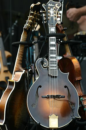 Sam Bush's Mandolin Collection