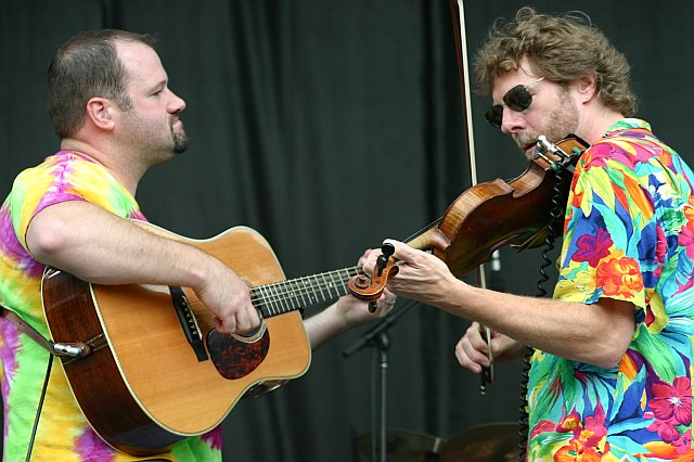 Stephen Mougin and Sam Bush