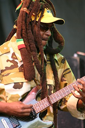 David Hinds with Steel Pulse