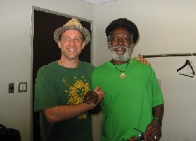 Doug Heselgrave and Burning Spear