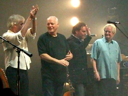 David Gilmour Entourage