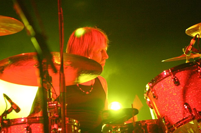 Matt Abts with Gov't Mule at Tampa Theatre on November 5, 2006