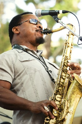 Saxophonist with Stephen Marley's Band
