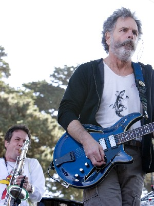 Kenny Brooks and Bob Weir