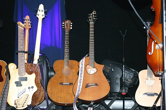 Keller Williams' Guitars