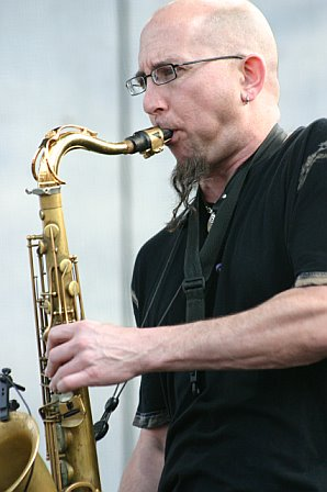 Jeff Coffin at Langerado Music Festival - March 9, 2007