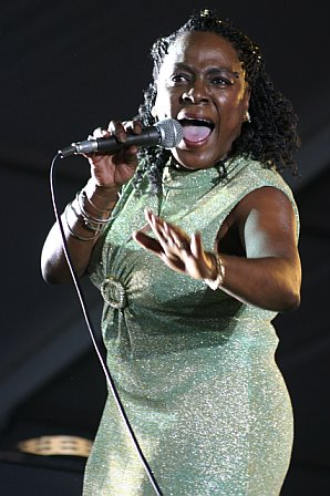 Sharon Jones Gets Spiritual