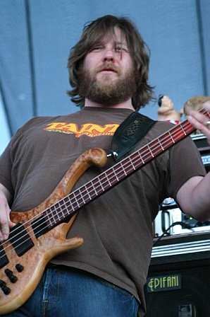 moe.'s Rob Derhak at Langerado 2007