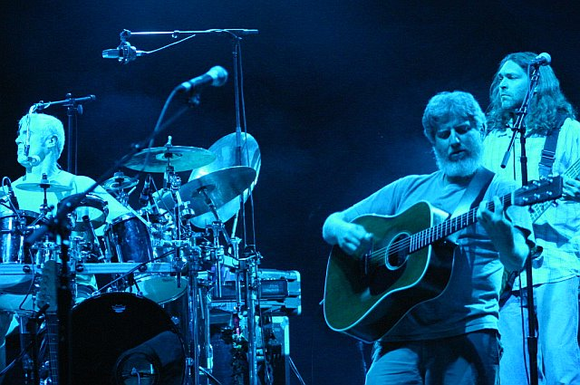 String Cheese Incident's Michael Travis, Bill Nershi, and Keith Moseley in Tampa, FL - October 19, 2006