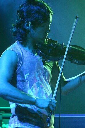 String Cheese Incident's Michael Kang in Pompano Beach, FL - October 20, 2006