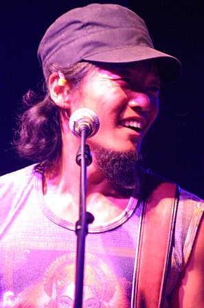 Michael Kang with String Cheese Incident at Pompano Amphitheatre - October 20, 2006