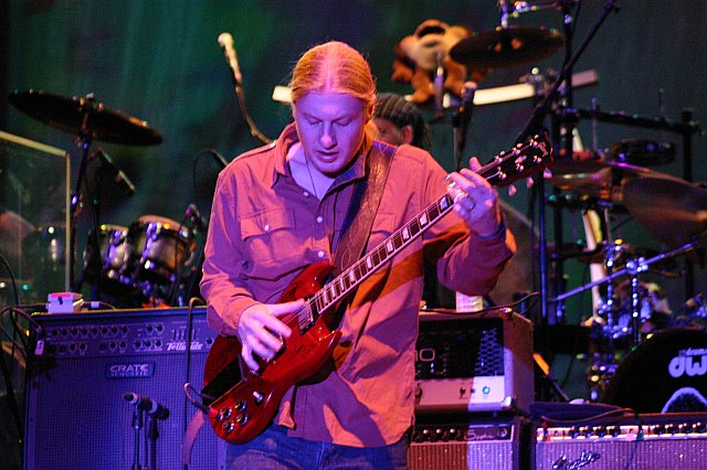 Derek Trucks with the Allman Brothers Band