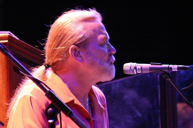 Gregg Allman Leads the Allman Brothers Band