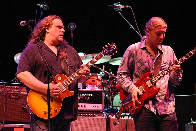 Warren Haynes and Derek Trucks