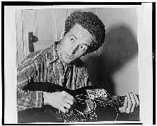 Woody Guthrie, 1943 - New York World-Telegram and the Sun Newspaper Photograph Collection / Library of Congress