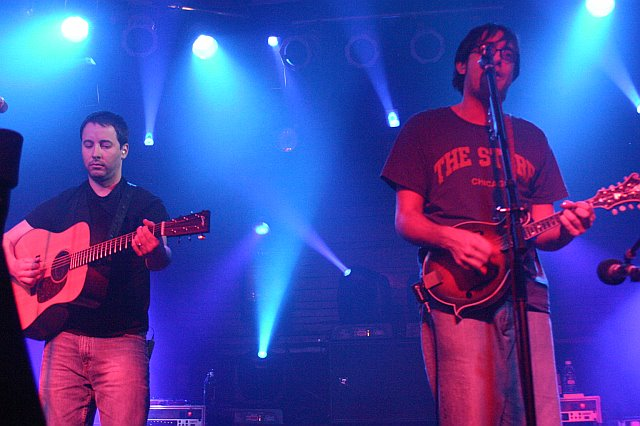 Yonder Mountain String Band's Adam Aijala and Jeff Austin at the Culture Room (February 2007)