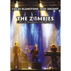 The Zombies - Live at the Bloomsbury Theatre, London - DVD Cover