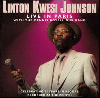 Linton Kwesi Johnson - Live in Paris CD